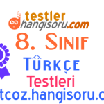 7. Sınıf Cümle Bilgisi Testi Çöz 2 (LGS Hazırlık)